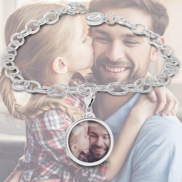 Freundschaftsarmband mit einem Foto personalisiert