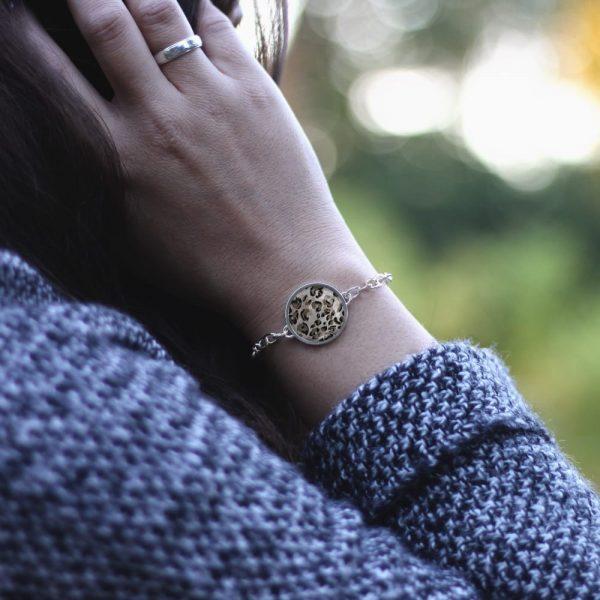 Armband mit einem Leoprint, Animalprint oder mit Leo