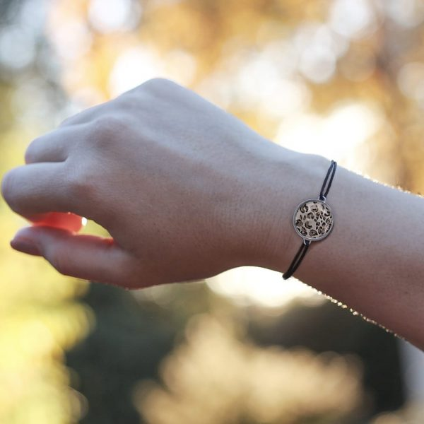 Armband im Leopsrdlook - CherAmi Animalprint Freundschaftsarmband