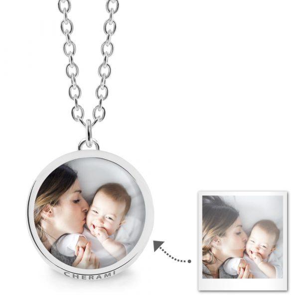 Kette mit einem Foto personalisiert - personalisierte fotokette