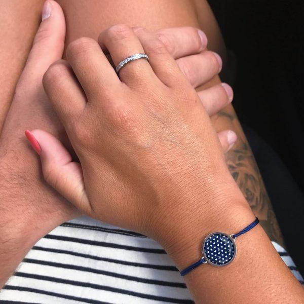 Marine-look-Armband-Schmuck-passend-zu-blau-weiss