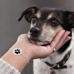 Abdruckschmuck von CherAmi, personalisiertes Armband mit Handabdruck