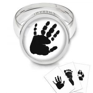 Ring mit einem Handabdruck von Cherami Schmuck