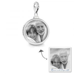 Charmanhänger mit einem Foto personalisiert - Anhänger für Charmarmband